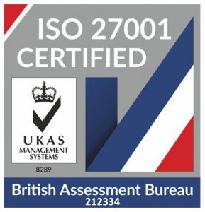 Incopro UKAS ISO 27001 certification