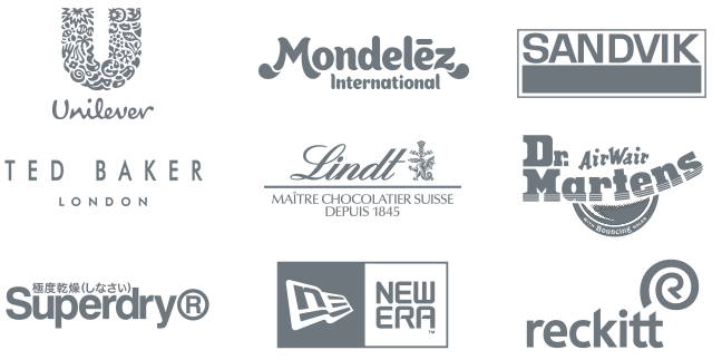 Incopro Customer logos